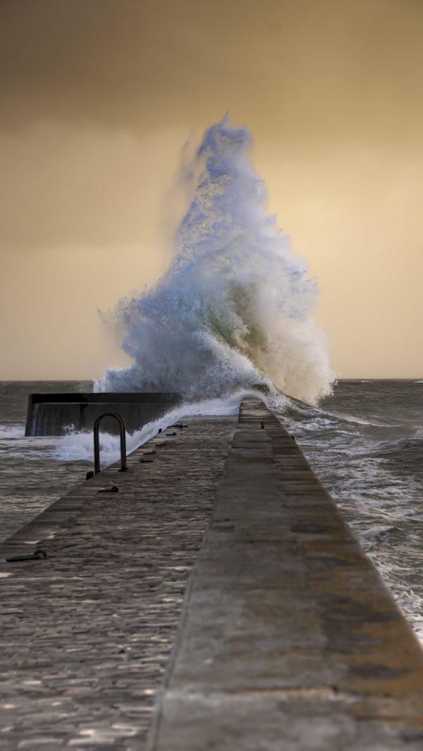 Tempête en Bretagne, Morbihan