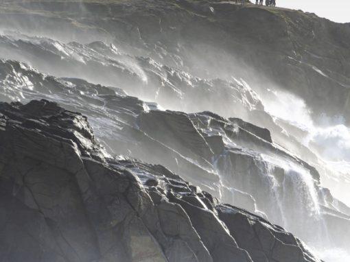 Tempête sur Quiberon et sa côte sauvage